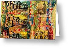 Beautiful Sulmona Italy Greeting Card