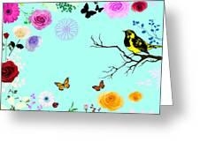 Beautiful Summer Day Greeting Card