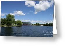 Beautiful Summerday At Lake Winnipesaukee Greeting Card