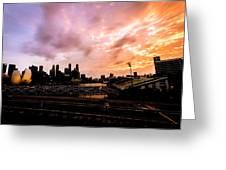Beautiful Sunset 2 Greeting Card