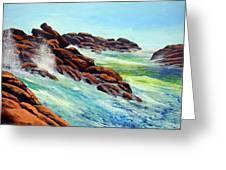 Beautiful Surf Greeting Card