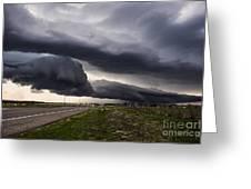 Beautiful Texas Storm Greeting Card