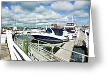 Beautiful View On The Elizabeth 7 Greeting Card by Lanjee Chee