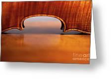 Beautiful Violin Greeting Card