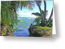 Beautiful Waters Of Puerto Rico Greeting Card