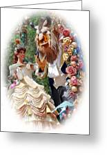 Beauty And The Beast II Greeting Card