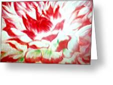 Beauty And The Flaming Tongue Greeting Card