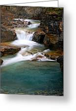 Beauty Creek Cascades Greeting Card