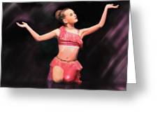 Beauty Dances Greeting Card