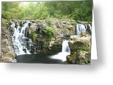 Beauty Falls Greeting Card