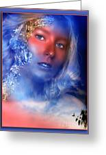 Beauty In The Clouds Greeting Card