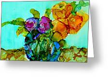 Beauty Of Flowers Greeting Card