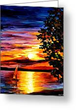 Beauty Of Night Greeting Card