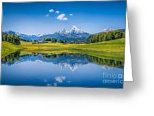 Beauty Of The Alps Greeting Card