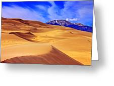 Beauty Of The Dunes Greeting Card