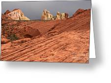 Beauty Of The Sandstone Landscape Greeting Card