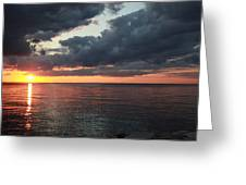 Beauty Of The Sunrise Greeting Card