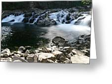 Beauty Of The Washougal River Greeting Card