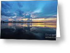 Beauty Over The Water Greeting Card