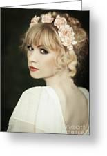 Beauty Portrait Greeting Card