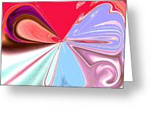 Beauty Shock, Wings Of Imagination Greeting Card