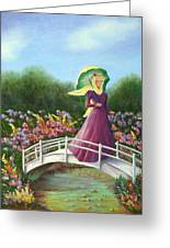 Beauty Wherever She Goes Greeting Card
