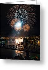 Beaver County Fireworks 2 Greeting Card
