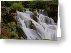 Beaver Cr Falls 2 Greeting Card by Scott Gould