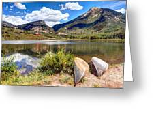 Beaver Lake Greeting Card