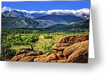 Beaver Meadows In Rocky Mountain National Park Greeting Card