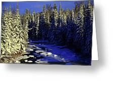 Beaver River Greeting Card