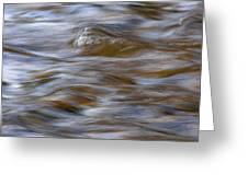 Beaver River Rapids Flow Greeting Card