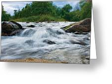 Beaver River Rapids Greeting Card