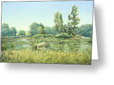 Beavor Pond Greeting Card