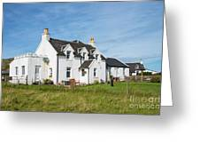 Iona Bed And Breakfast Two Greeting Card