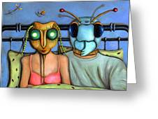 Bed Bugs Greeting Card
