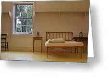Bed - Infirmary - Fort Larned - Kansas Greeting Card