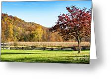 Bedford, Pa Fall Landscape Greeting Card