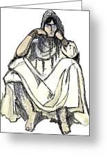 Bedouin 1 Greeting Card