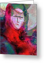 Bedouin 4 Greeting Card by Mimo Krouzian