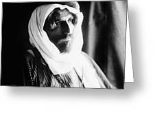 Bedouin Man, C1910 Greeting Card
