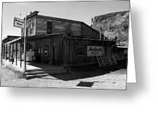 Bedrock Store 1881 Greeting Card