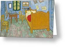 Bedroom At Arles Greeting Card