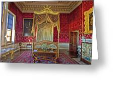 Bedroom At Holkham Hall Greeting Card