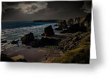 Bedruthan Cornwall Greeting Card