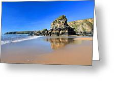 Bedruthan Steps Greeting Card