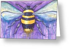 Bee For A Little Bee Greeting Card