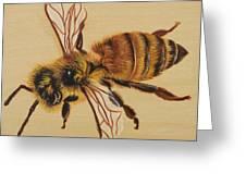 Bee Ix Delphine Greeting Card