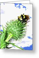 Bee-line 4 Greeting Card