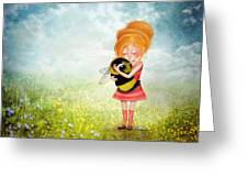 Bee Whisperer Greeting Card